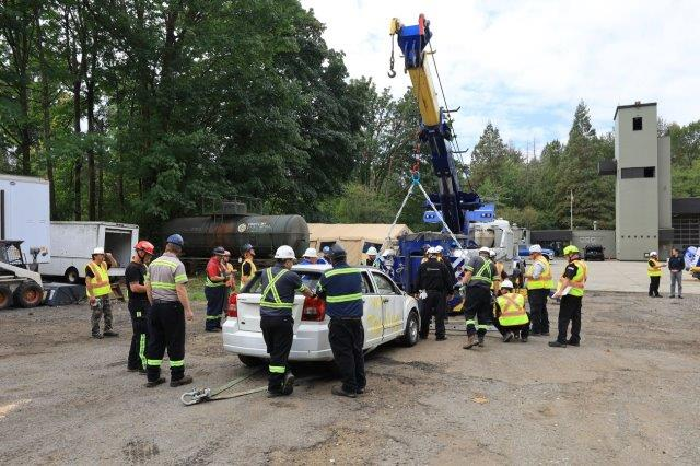 WreckMaster training level 8/9R in North Vancouver, August 19, 2021